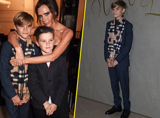 Victoria, Romeo et Cruz Beckham le 3 novembre 2015