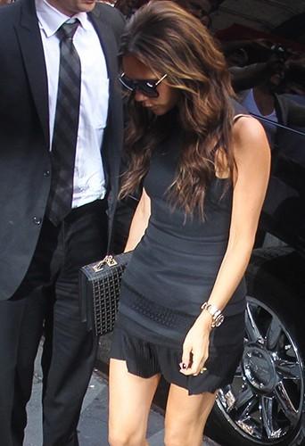 Victoria Beckham dans les rues de New-York fin 2012