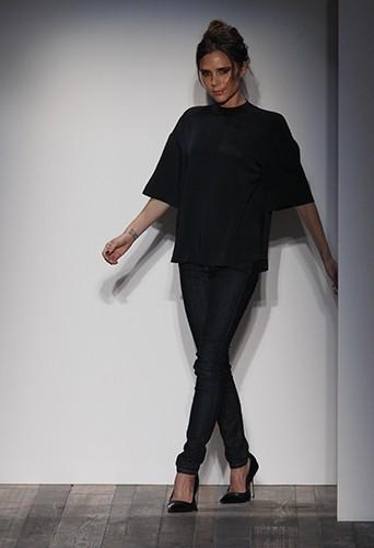 Victoria lors de la présentation de sa collection le 10 février dernier