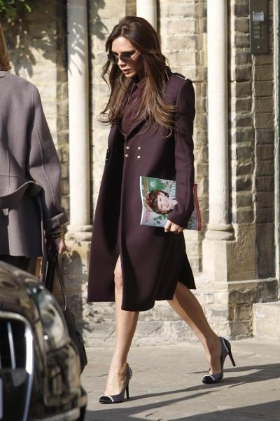 Victoria Beckham, Londres, 5 mars 2013.