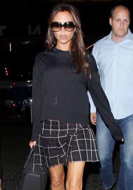 Victoria Beckham à l'aéroport de Los Angeles, le 26 août 2013.