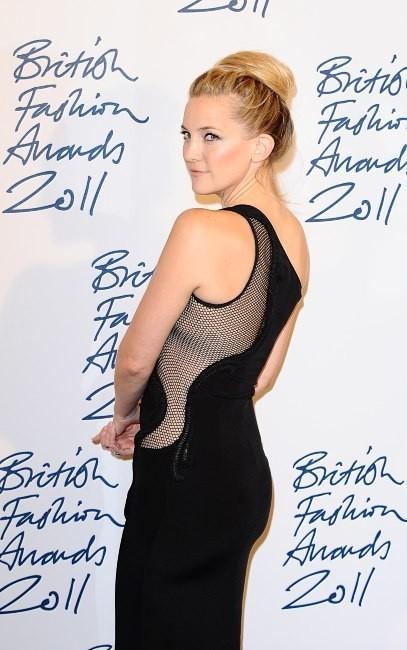 Kate Hudson lors de la soirée des British Fashion Awards à Londres, le 28 novembre 2011.