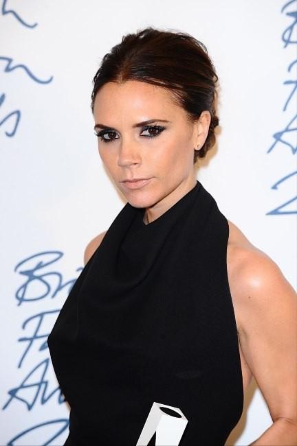 Victoria Beckham lors de la soirée des British Fashion Awards à Londres, le 28 novembre 2011.