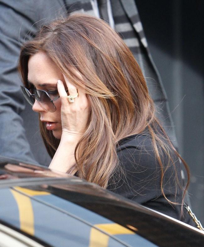 Victoria Beckham à Londres le 28 février 2013