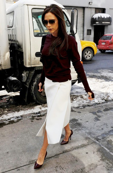 Victoria Beckham à New York, le 10 février 2014.