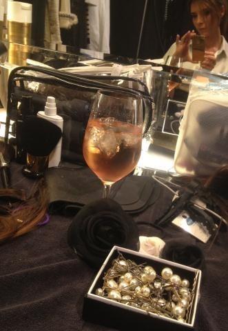 Un verre de rosé pour se détendre