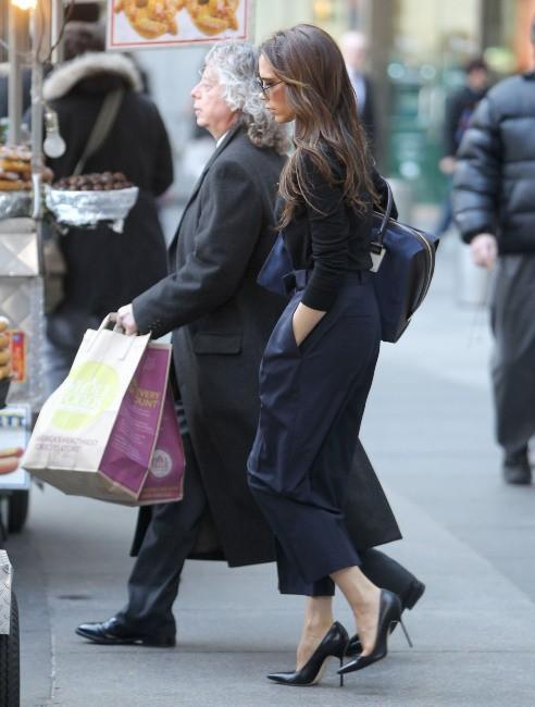 Victoria Beckham le 13 février 2013 à New York