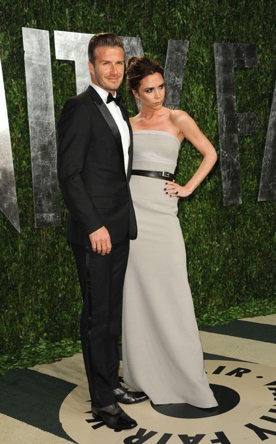 David Beckham est en pleine forme, lui !