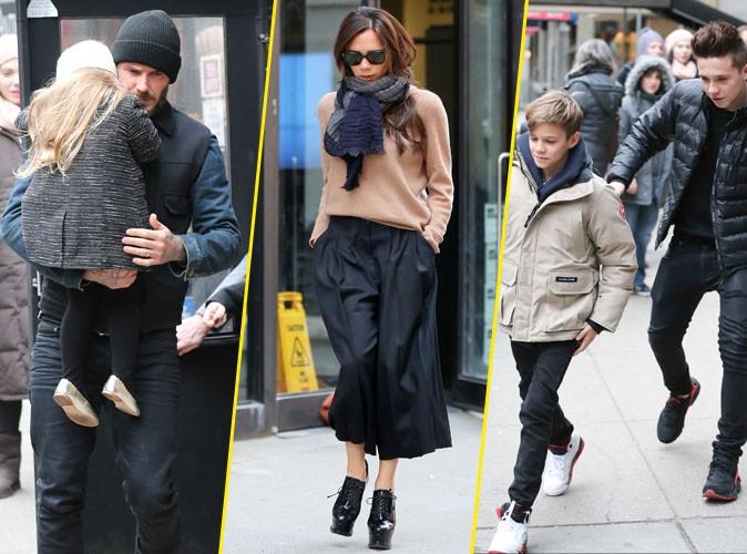 Victoria Beckham : toujours ultra look�e, m�me pour une sortie en famille !