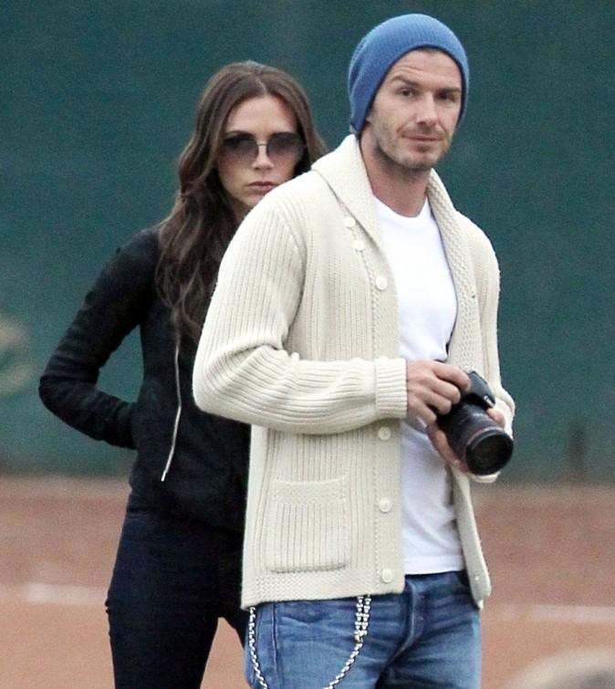 David Beckham, prêt à photographier tout ce qui bouge !