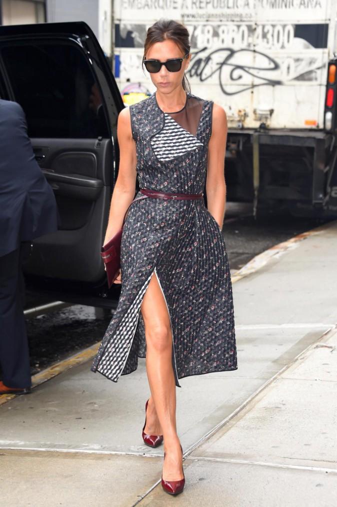 Victoria Beckham : une new-yorkaise �l�gante qui sait parfaitement mettre en valeur ses cr�ations !