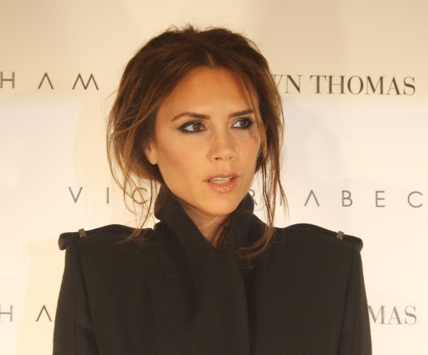 Victoria Beckham en promo à Dublin, le 18 juillet 2012.
