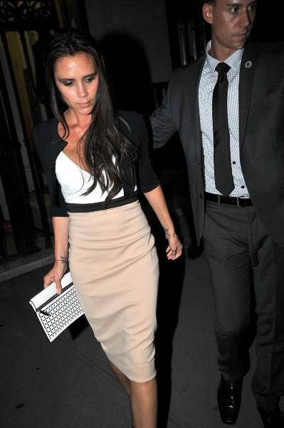 Victoria Beckham à New York, le 10 septembre 2013.