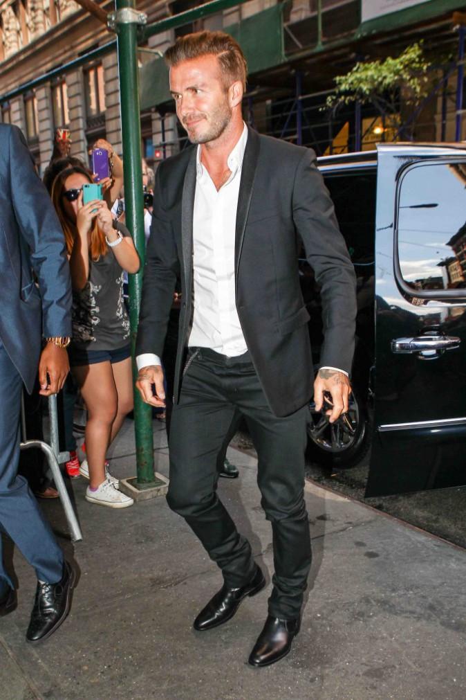Victoria et David Beckham : couple stylé pour la Fashion Week de New York !
