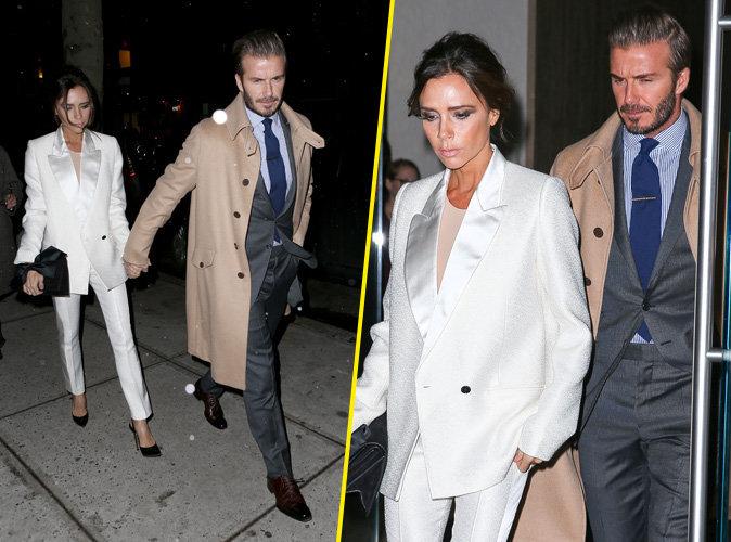 Victoria et David Beckham : un couple uni et ultra glamour � New York !