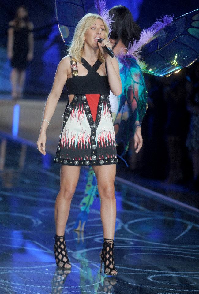Ellie Goulding au défiilé Victoria's Secret organisé à New-York le 10 novembre 2015
