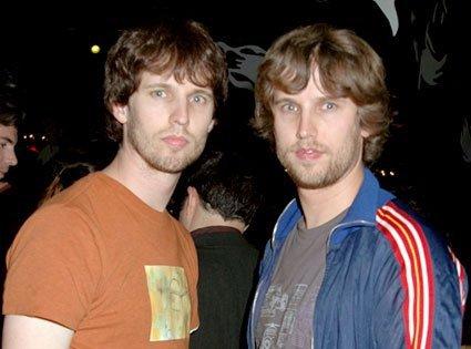 Jon Heder et son jumeau