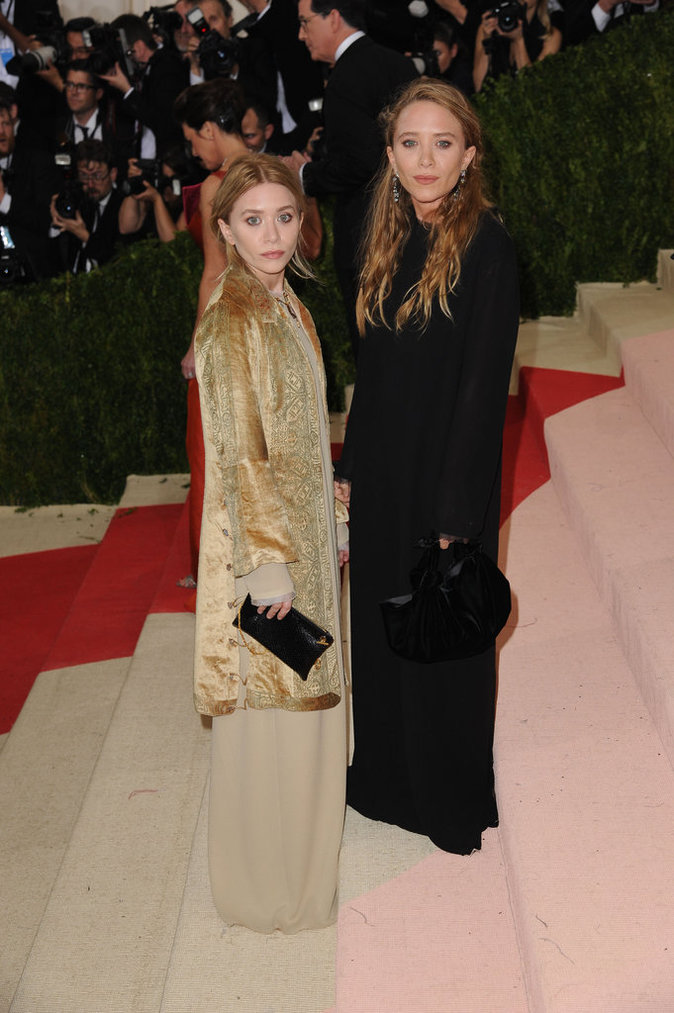 Mary Kate et Ashley Olsen au MET Gala 2016