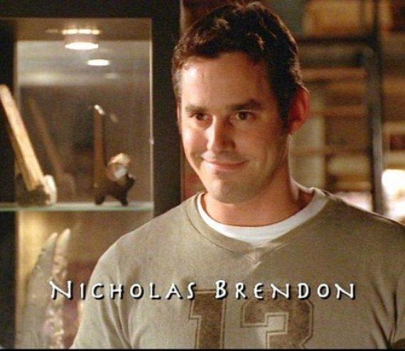 """Nicholas Brendon dans """"Buffy contre les vampires"""""""