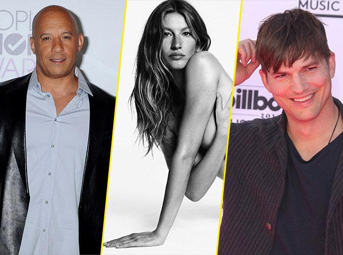 Photos : Vin Diesel, Gisele Bündchen, Ashton Kutcher : ils ont tous un jumeau !