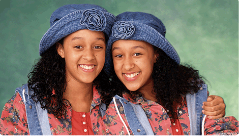 Tina et Tamera Mowry
