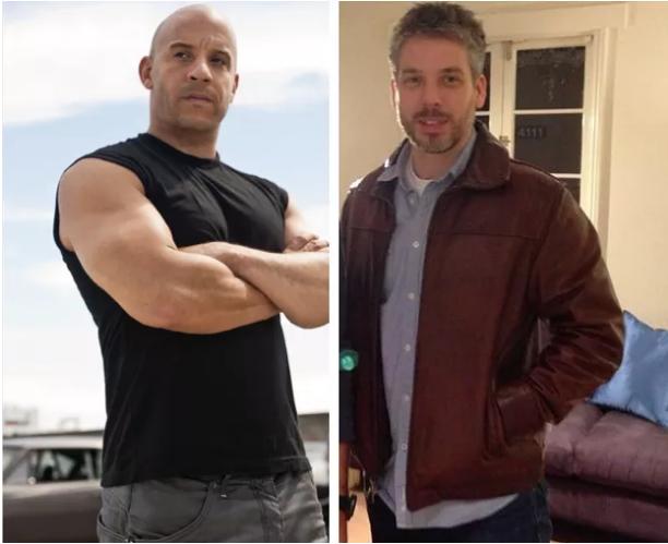 Vin Diesel et son jumeau