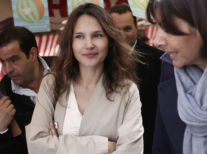 Virginie Ledoyen : au marché avec Anne Hidalgo pour sa première apparition post-grossesse !