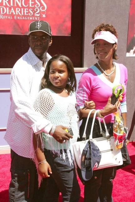 Whitney Houston au temps du bonheur en famille...