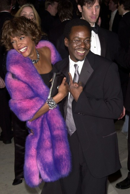 Whitney Houston et son ex-mari Bobby Brown...