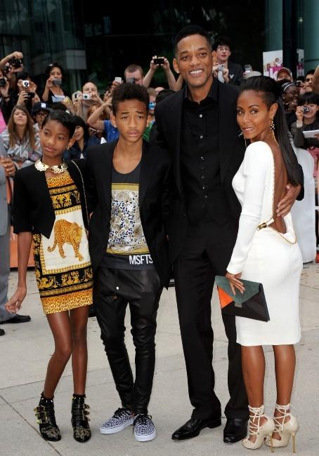 Will Smith en famille au Festival du film de Toronto, le 9 septembre 2012.