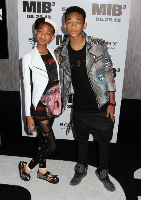 Willow et Jaden Smith lors de la première new-yorkaise de MIB 3, le 23 mai 2012.