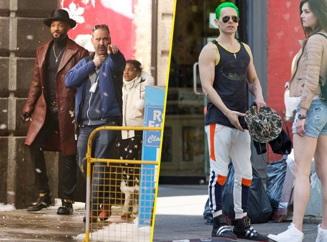 Photos : Will Smith pas du tout effrayant face à Jared Leto !
