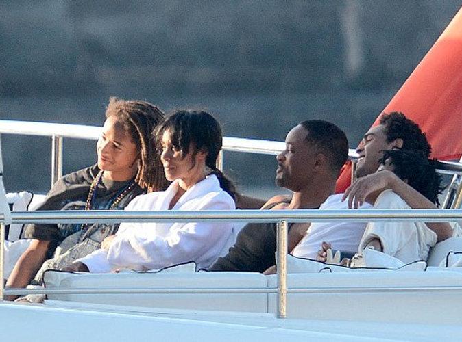 Photos : Will Smith : Vacances à Capri avec toute la famille !