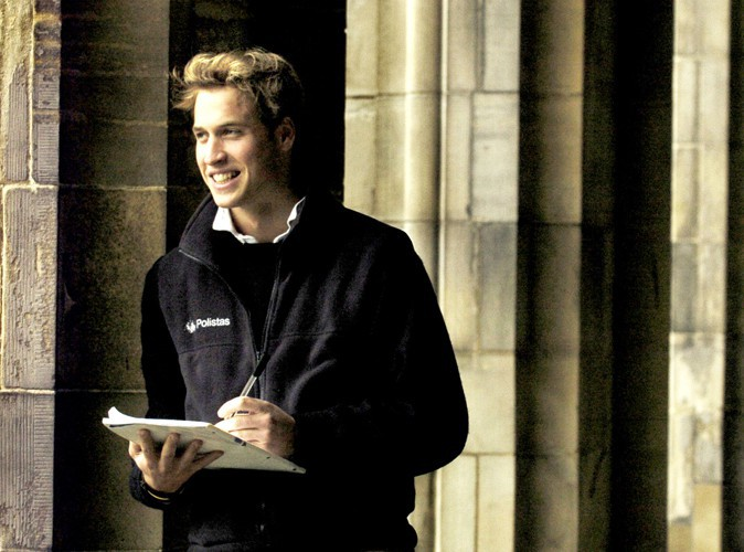 Lors de sa dernière année d'étude à St. Andrews, en novembre 2004.