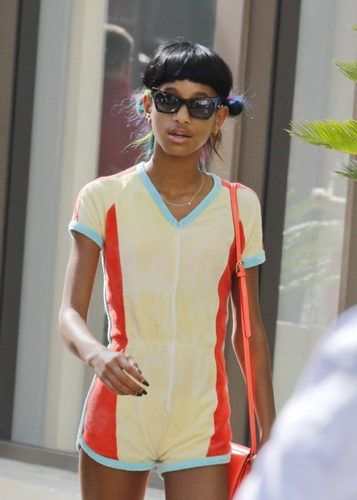 Willow Smith en sortie shopping à West Hollywood le 2 août 2013