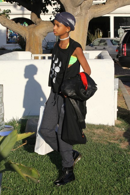 Willow Smith le 16 octobre 2012 à Malibu