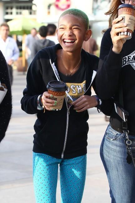 Willow Smith à Calabasas, le 10 mars 2012.