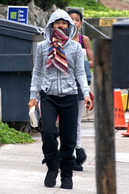 Jada Pinkett Smith le 8 novembre 2012 à Los Angeles
