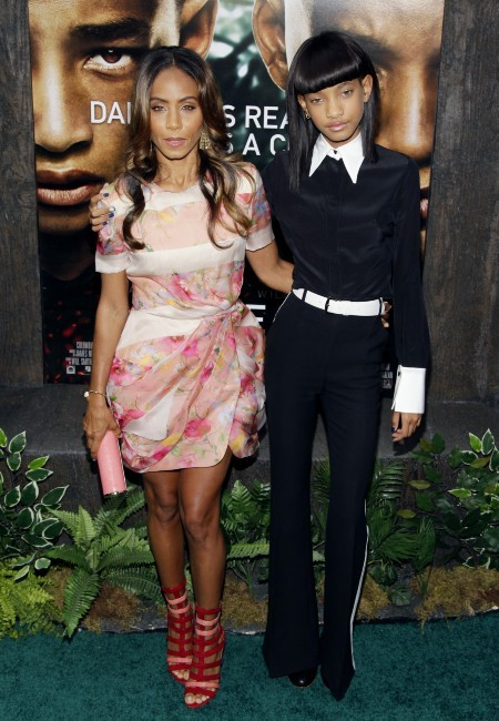 Willow Smith et sa mère Jada Pinkett Smith le 29 mai 2013 à New York