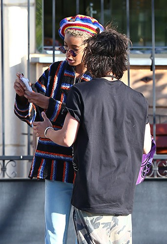 Willow Smith à Los Angeles le 1er mai 2014