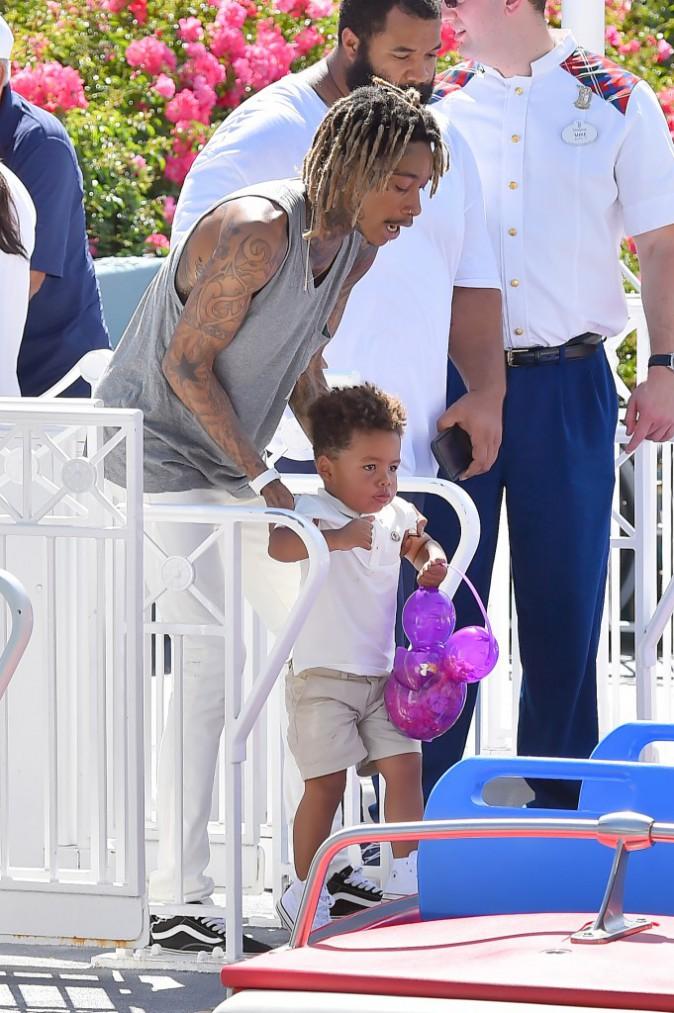 Photos : Wiz Khalifa : virée féérique avec Sebastian, un duo père-fils trop chou !