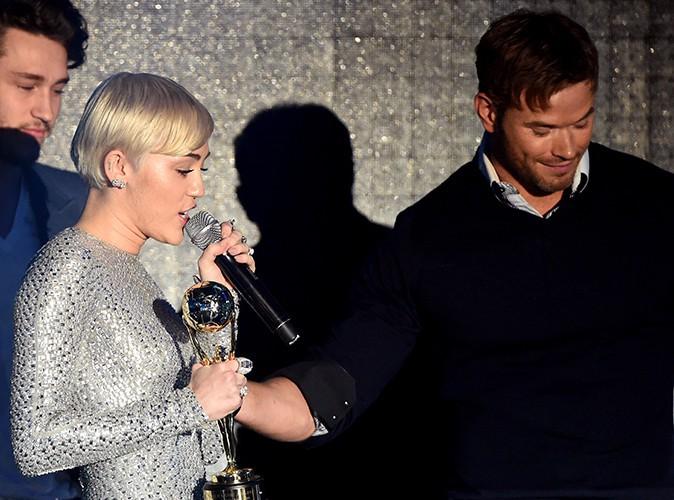 Miley Cyrus et Kellan Lutz à Monte-Carlo le 27 mai 2014