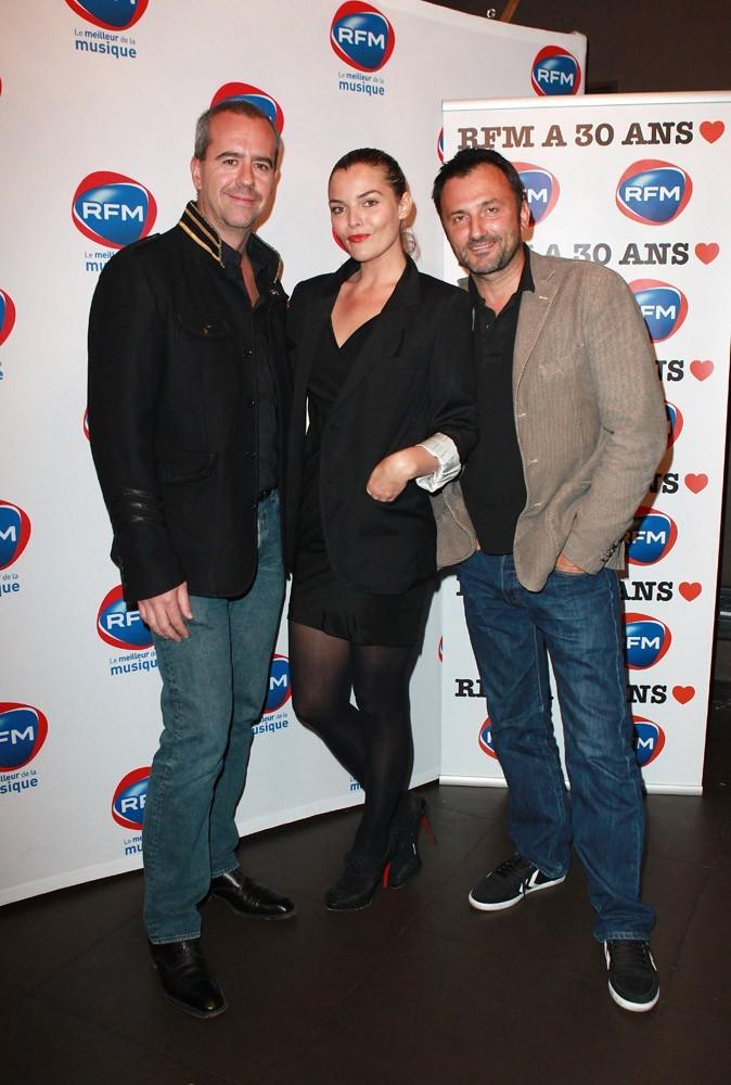 Justine Fraïoli, Bruno Robles et Frédéric Lopez