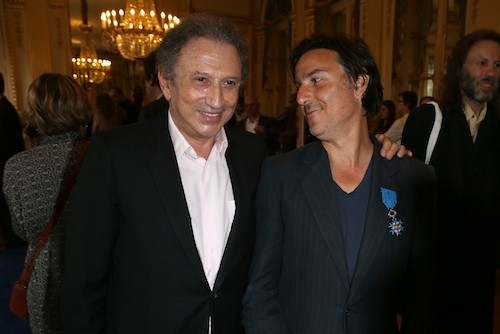 Michel Drucker et Yvan Attal