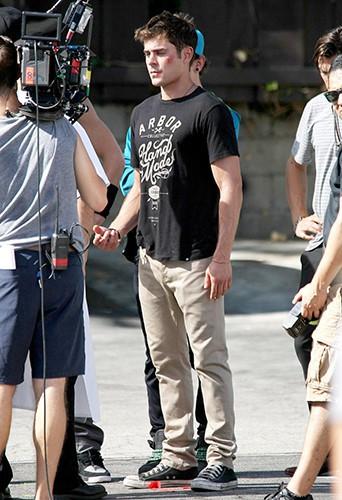 Zac Efron à Los Angeles le 9 septembre 2014