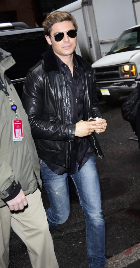 Zac a de très beaux cheveux...