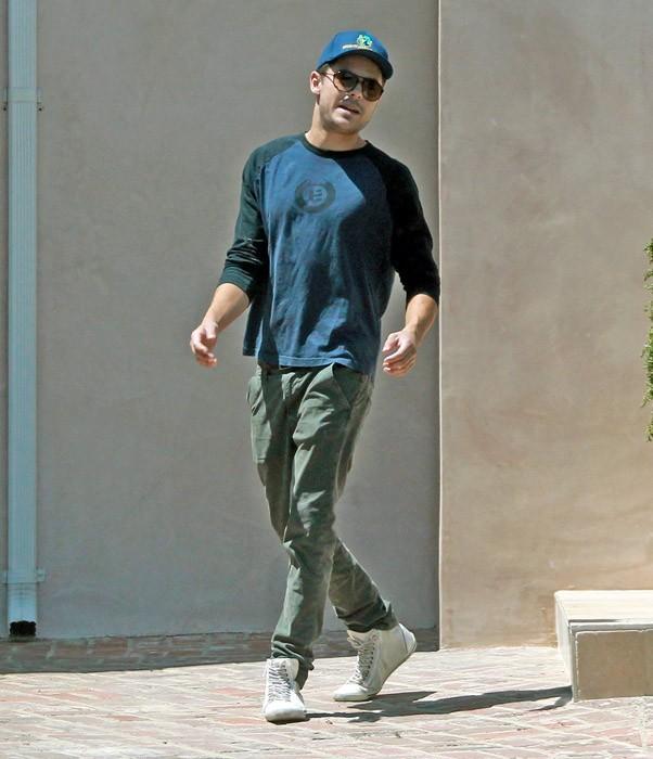 Zac Efron à Beverly Hills avec son frère