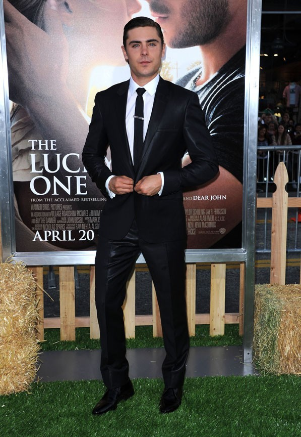 Zac Efron à l'avant-première de The Lucky One à Los Angeles