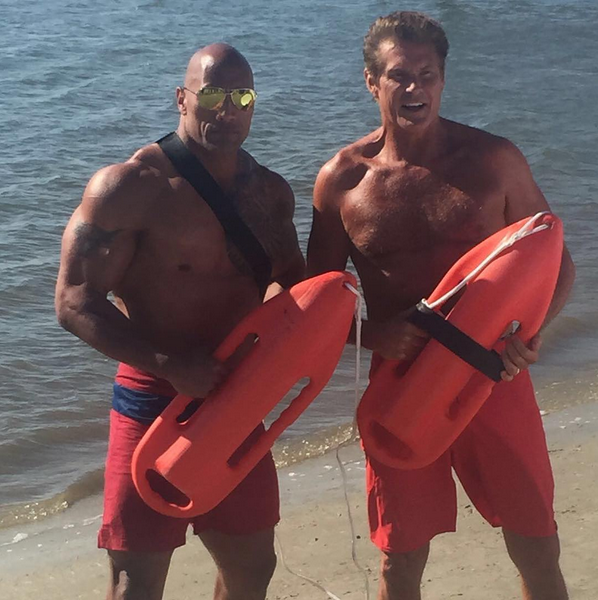 Photos : Zac Efron : les conseils de David Hasselhoff pour Baywatch !