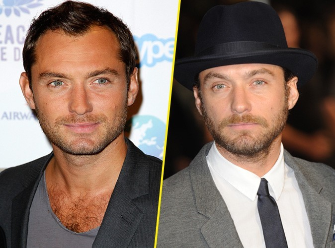 Jude Law : avec ou sans barbe?